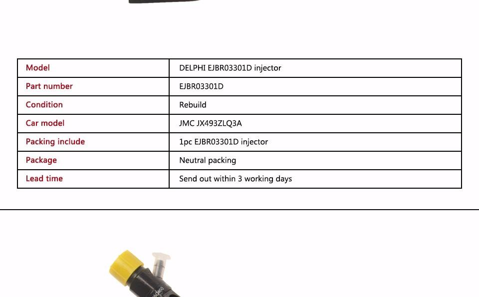 Rebuild diesel engine cr delphi ejbr03301d injector suit for jmc jx493zlq3a (2).jpg