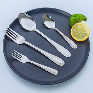 New Style Silver Appearance Flatware Good Prices