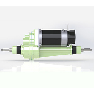 24V 800w 40:1 Transaxle drive system differential electric vehicle transaxle dc motor for Golf Cart