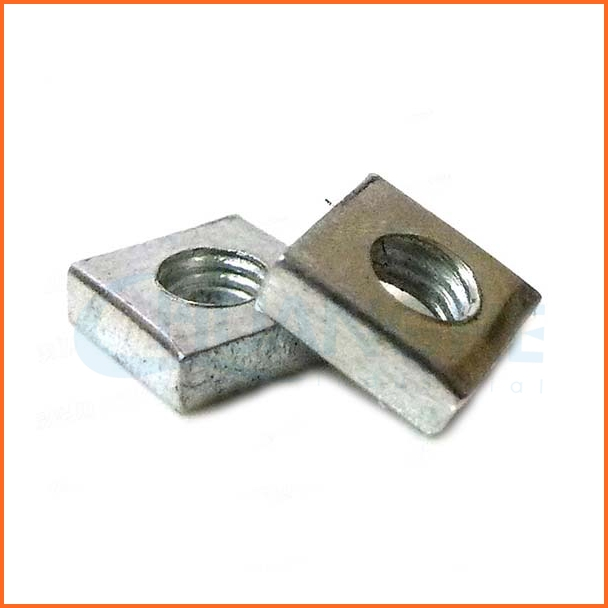 Chuanghe supplier square nuts without bevel