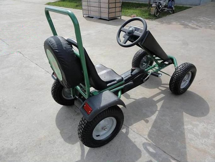 Adult Pedal Car: New Design Four-wheel Pedal Car For Adults,Manufacturer