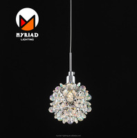 2017 led italian hanging pendant lights MY8010P-R Rainbow color