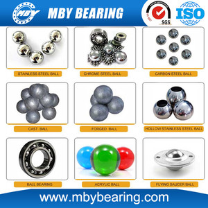 MBY 10mm 20mm 30mm 40mm 50mm 60mm forged grinding steel ball solid rubber coated steel ball