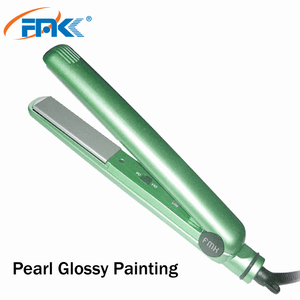 2019 new arrival ptc heater hair flat iron basic 1 inch ceramic coating hair straightener private label flat iron micro art tool