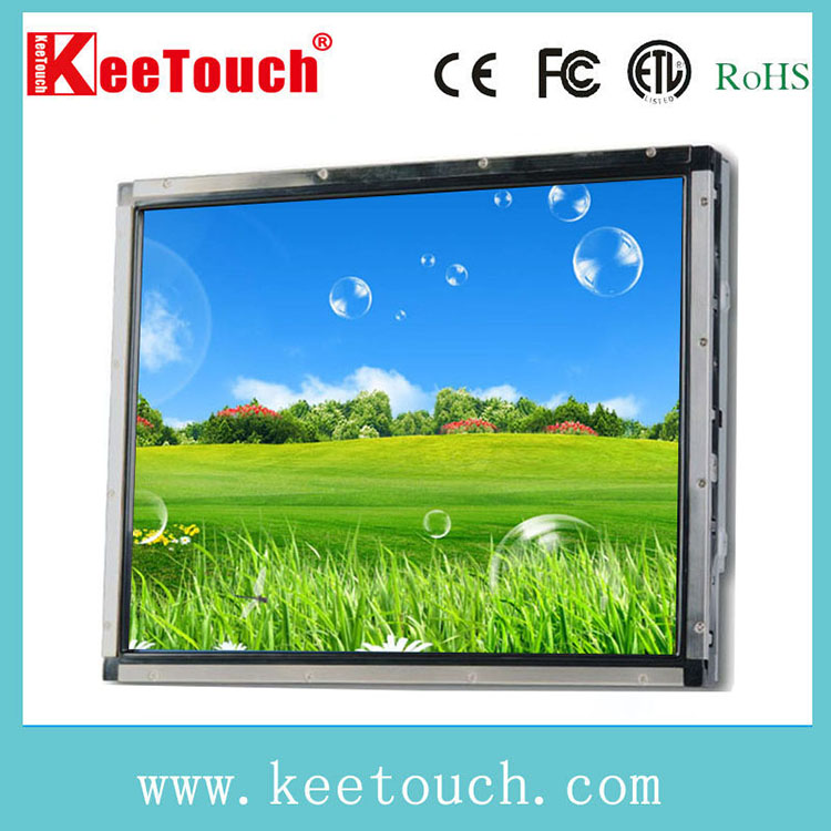 "With FCC CE RoHS certificates 19"" LCD Open frame SAW Touch Monitor"