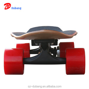 2018 New 4 wheel wireless remote control fish board 200w electric skateboard for sale cheap