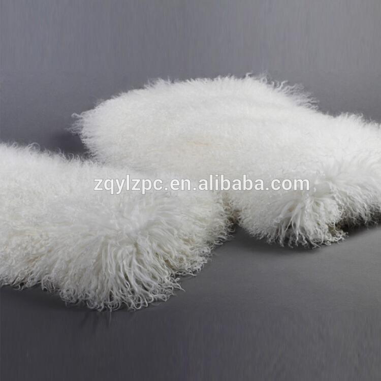 Entertainment Memorabilia Natural Tibetan Lamb Rug Goat Skin Blanket Mongolian Blanket Sheep Fur