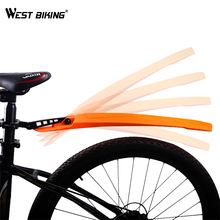 WEST BIKING High Elastic Bicycle Fenders Road Mountain Bike Front Rear Mudguard Set Quick Release Mountain Portable Bike Fender