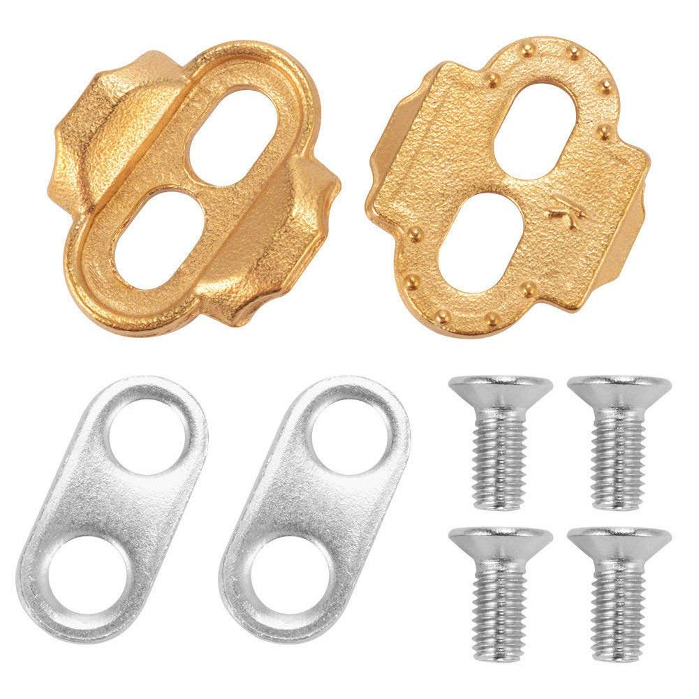 FidgetFidget Pedals Cleats Crank Brothers for Eggbeater Candy Smarty Acid Mallet Gold
