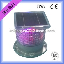 IP67 LED Solar Flashing Warning Light