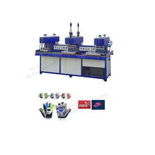 Siliconen logo maken siliconen machine t-shirt kleding label making machine
