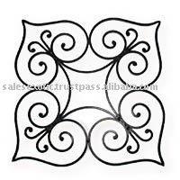Wrought Iron Wall Decor Metall Accent Decorative Item
