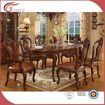 Barato 8 Sillas De Comedor De Madera Habitación De Mobiliario Clásico A115  - Buy Conjunto De Comedor,Muebles De Comedor De Lujo,Muebles De Sala De ...