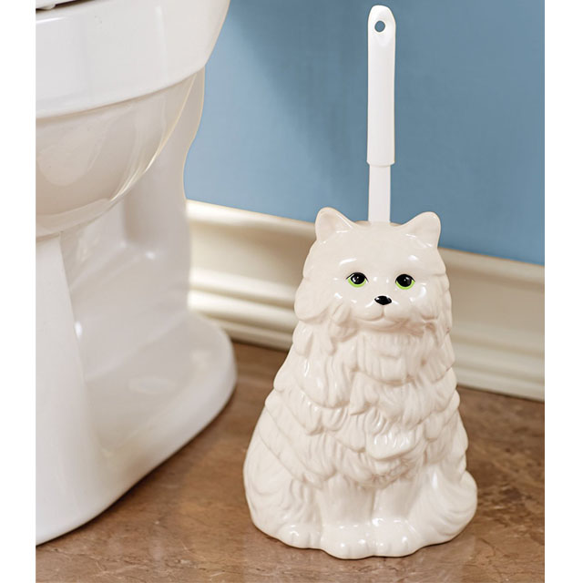 Cat Ceramics Animal Roll Funny Stand Toilet Paper Holder