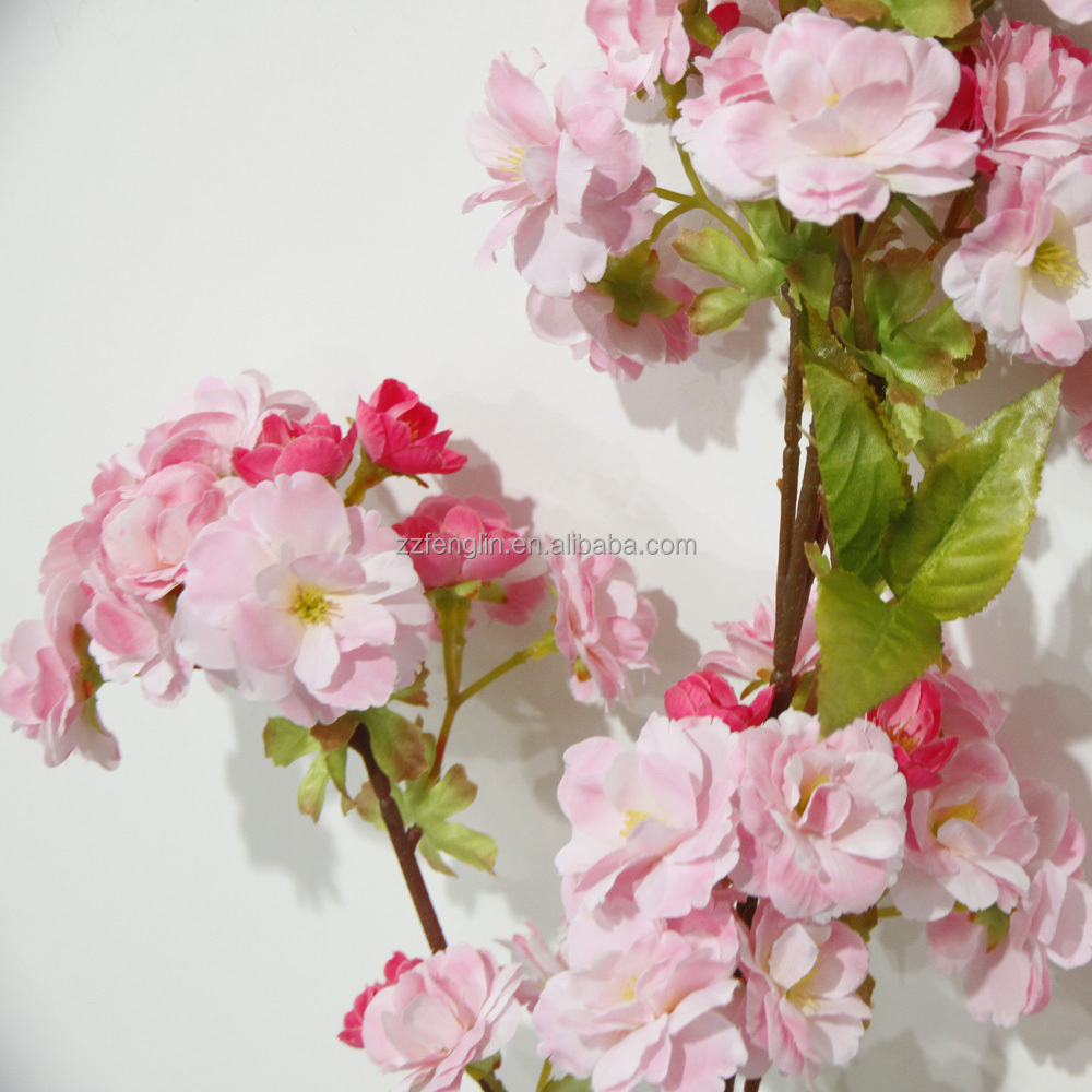 factory cheap wholesale wedding decorative artificial cherry blossom branches silk flower for. Black Bedroom Furniture Sets. Home Design Ideas