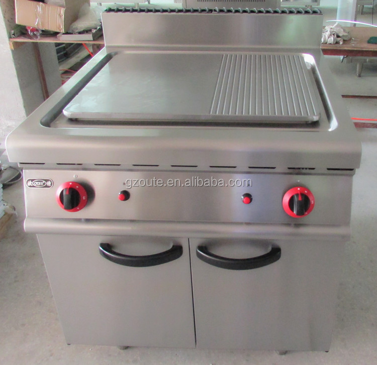 Cast Iron Griddles For Gas Grills ~ Hotel equipment commercial kitchen stainless steel flat