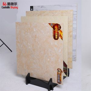 Waterfall Metal Display Stand for Ceramic Sample Wall Tile Displays