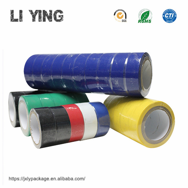 Best Choose Plastic Electrical Insulating Pvc Insulation Tape Log Roll