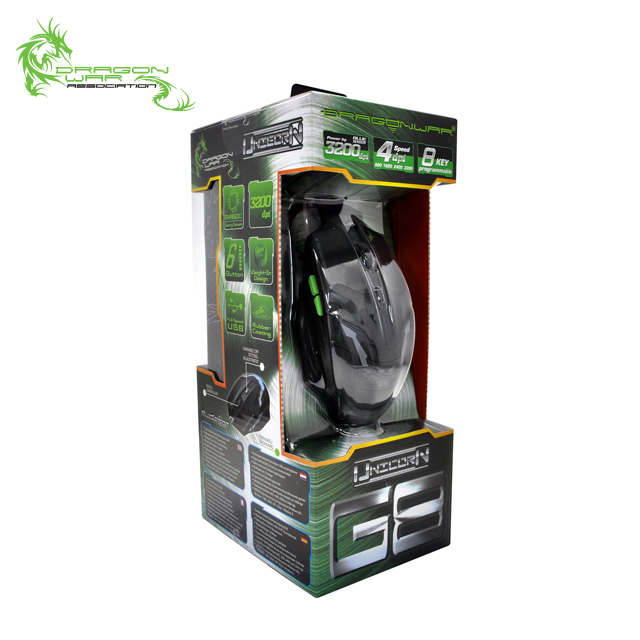 Good sell silent click gamer PC gaming mouse