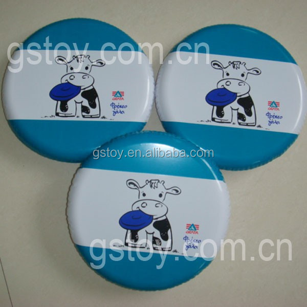 cheap novelty PVC inflatable toys Flying Disc