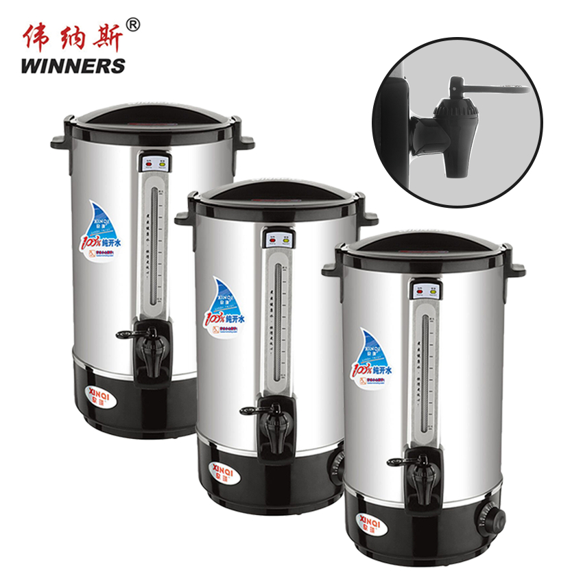 hot sale factories tea urn 35L hot water boiler electronic kettle for drinking