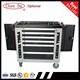 Good quality new design 6 drawers tool storage cabinet/tool box side cabinet/roller cabinet with tool