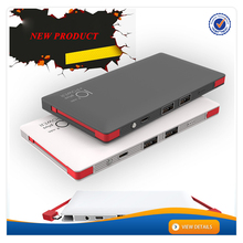 AWC928 New design and real capacity powerbank built in cable powerbank 10000 mah