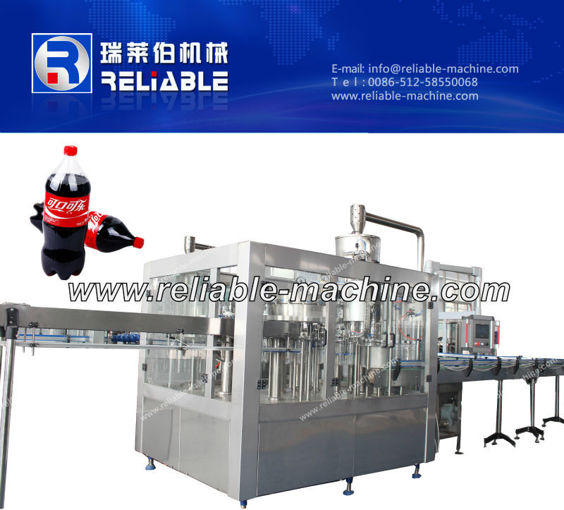 3 in 1 Carbonated Drink Machine/ Washing ,Filling and Capping Machine
