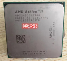 AMD Athlon II x2 245 AM3 2.9 GHz 2 MB <span class=keywords><strong>CPU</strong></span> massa 9.5 Nuovo garanzia 1 anno scrattered pezzi