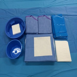 Sterile Disposable Surgical Cardiovascular Drape Pack