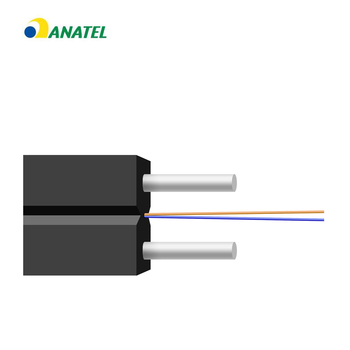Anatel Certificate Shenzhen 20 years OEM factory Hot Sale OM4 Multi film ftth fiber optic drop cable By Necero