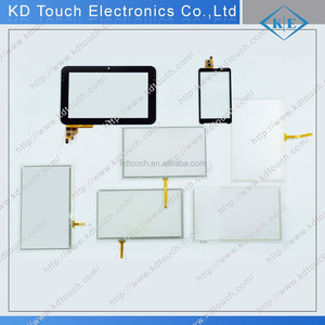 Customized different size Sensetive good quality Resistive and Capacitive touch screen panel for different applications