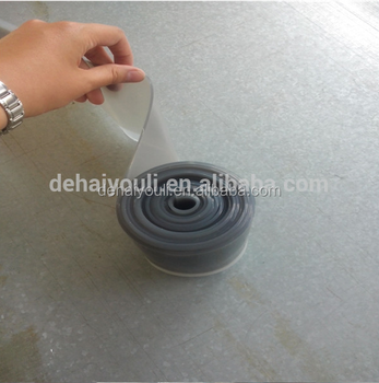 2mm Gray Silicone Rubber Membrane For Vacuum Laminating