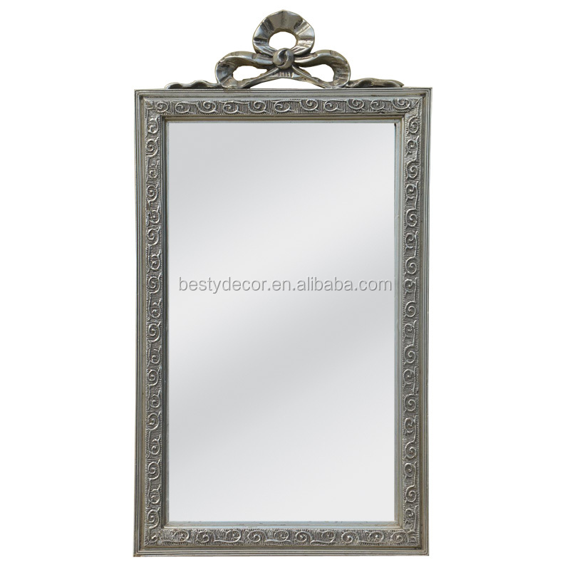 antiqure silver carved frame with mirror manufacturer