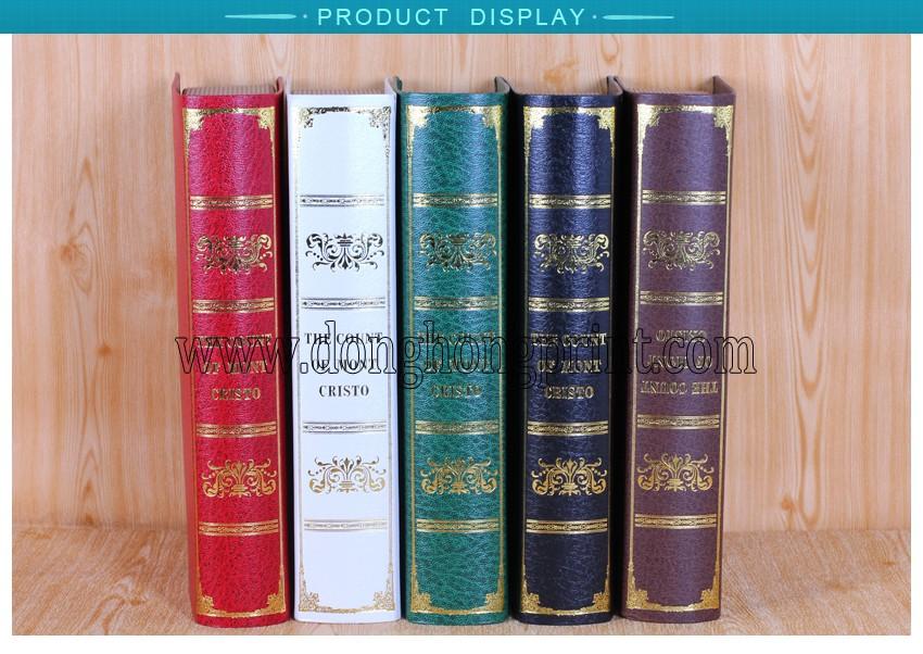 Wholesale cheap price fake book shape storage box buy for Cheap book storage