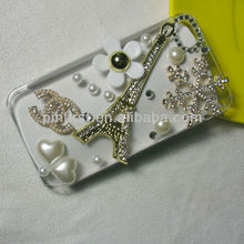 Transparent Rhinestone Mobile phone Covers