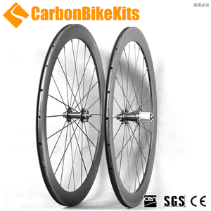 XC50C CarbonBikeKis 700C 50mm Clincher Road Bicycle carbon disc cyclocross wheelset