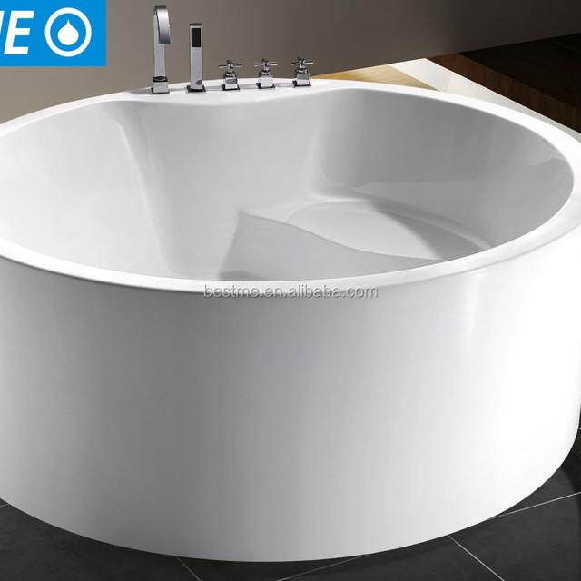 Wholesale Prices Acrylic Massage Bathtub With Seat B 45