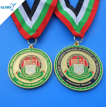 Wholesale Custom Design Colorful Medals for Souvenir