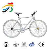 Fixed Gear Single Speed Urban Fixie Bike New Atir Cycles Black and white