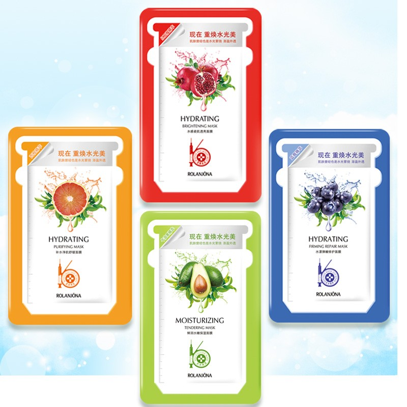 Facial mask moisturizing tendering brightening silk whitening Face Mask
