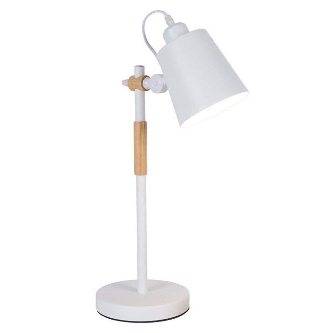QPGGP-Table Lamp Nordic Eye Lamp Desk College Student Minimalist Modern Girls Dormitory Creative Bedroom Headlamp