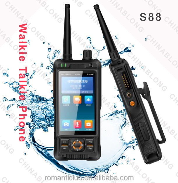 Online Shopping New Products 2016 Dual Sim Card Two-Way Radio Walkie Talkie With Earpiece Wholesale
