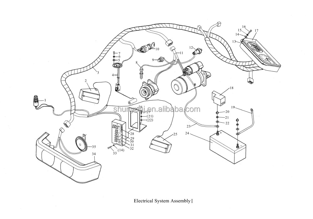 yanmar sc2400 engine wiring diagram