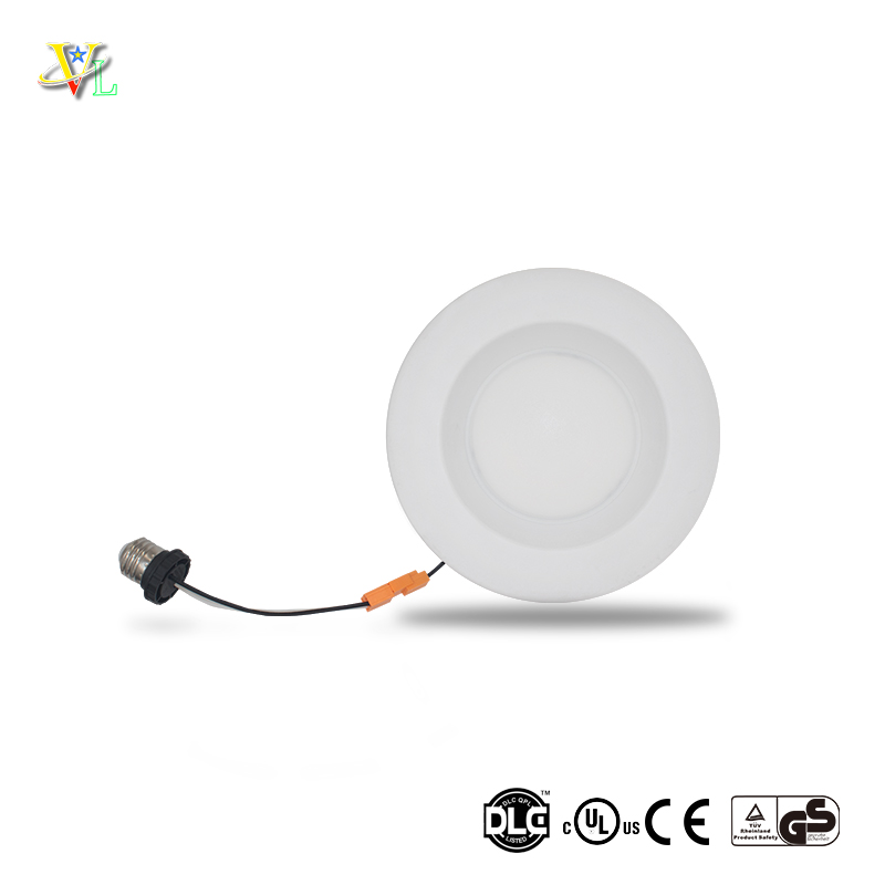 aluminum body flicker free CRI80 12W 6 inches retrofit led <strong>downlight</strong>