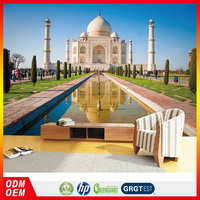 india Taj Mahal photo price 3d wall wallpaper famous building wallpaper for office wall