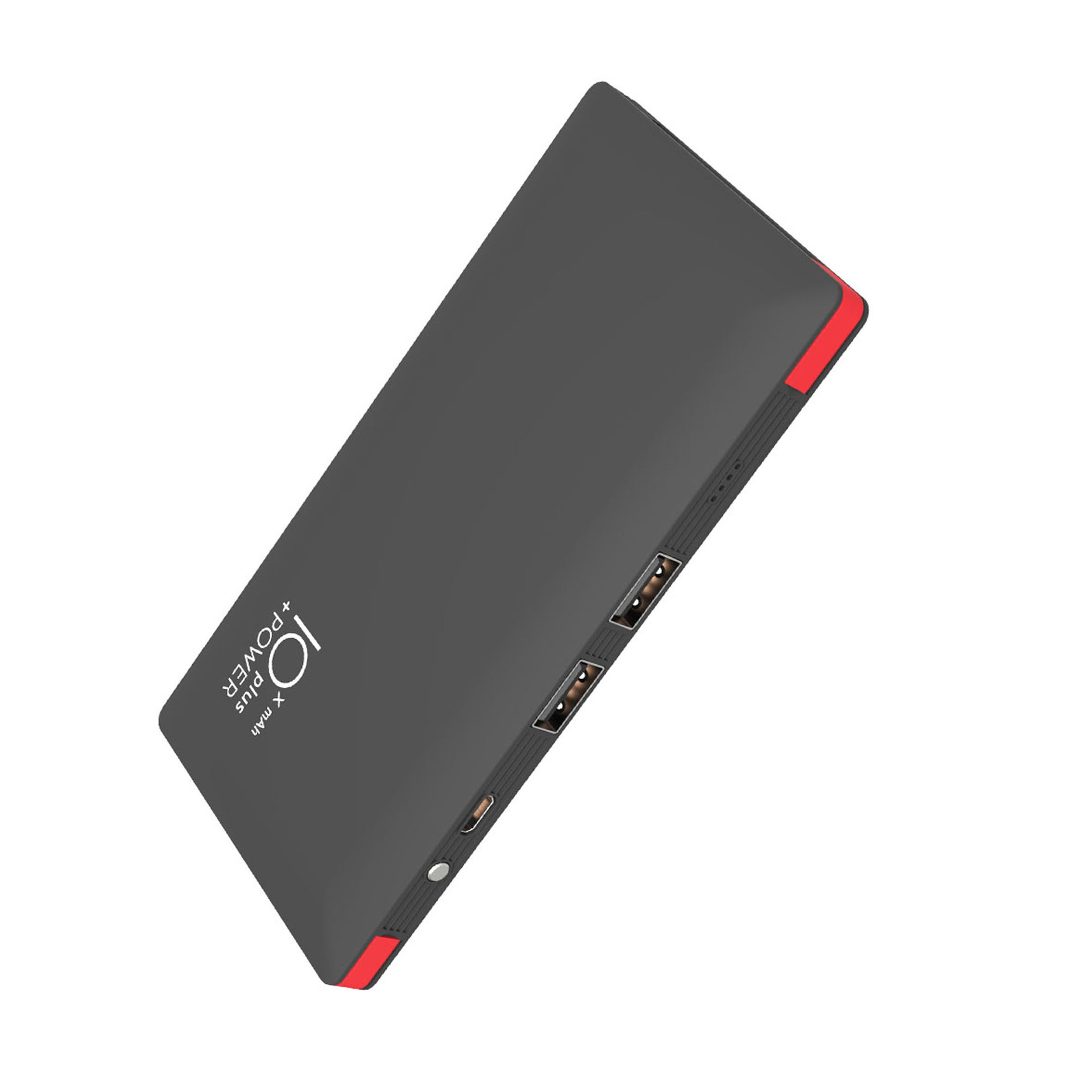 2019 New Design Ultra Slim Card Powerbank 10000 mah,  Custom Logo Power Bank With Built in Cables Wallet Power Bank