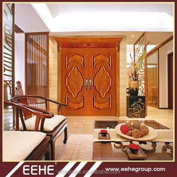 Teak Wood Door Models Design In Bangladesh Double Door Design Buy