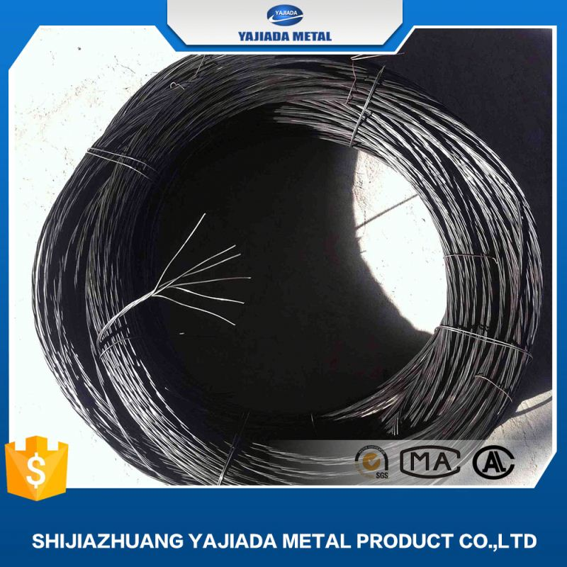 1.24mm black annealed galvanized wire twisted bwg 18