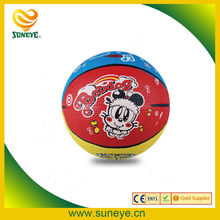 promotional rubber basketball new design size 3 best price